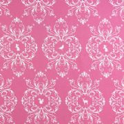 Gutermann Fabric Animals French Cottage Pink - per quarter metre